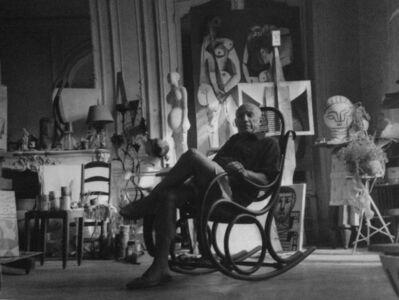 Kurt Blum, 'Picasso (dans son atelier de Cannes) ', 1956