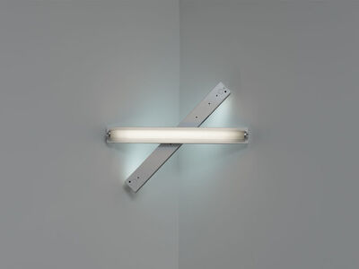 Dan Flavin, 'untitled (to Cy Twombly) 3', 1972