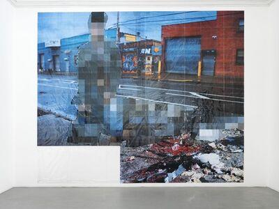 Thomas Hirschhorn, 'Pixel-collage n°86', 2017