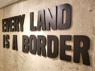 Léster Rodriguez, 'Every land is a Border', 2017