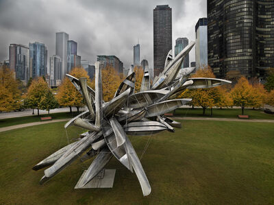 Nancy Rubins, 'Monochrome for Chicago', 2010-2012