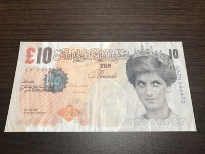 Banksy, 'Di Faced Tenner ', 2003