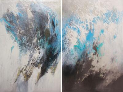 Kristie Fujiyama Kosmides, 'Windswept Currents (Diptych)', 2017
