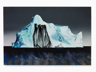 Zevs, 'Iceberg 2 Benoit-Pailley', 2017