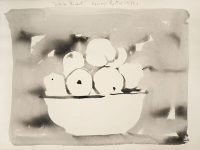 George Bartko, 'White Bowl', 1989