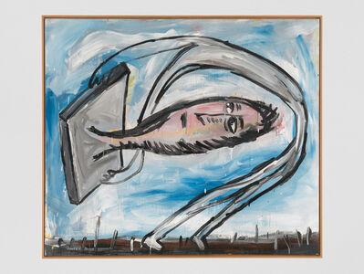 Walter Dahn, 'Kopf aus der Platte ... Bewegt! / nicht bewegkopf! ...', 1981