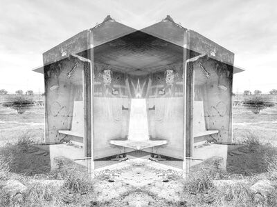 Alastair Whitton, ' Bus shelter, Bonteheuwel', 2019