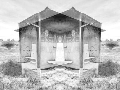 Alastair Whitton, ' Bus shelter, Bonteheuwel', 2019