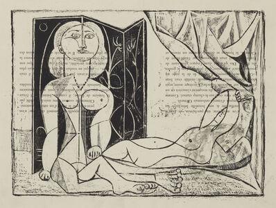 Pablo Picasso, 'Les Deux Femmes nues, State 13, 25th January 1946', 1946