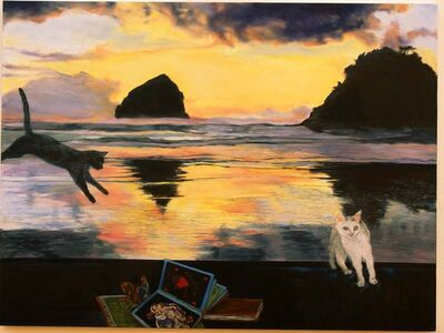 Katherine Pappas-Parks, 'The Horizon's Light VI', 2012