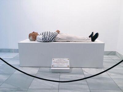 Eugenio Merino, 'Here Died Picasso', 2017