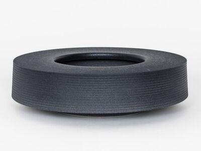 Ian McDonald, 'Soft Stoneware Low Form (Soft Black)', 2019
