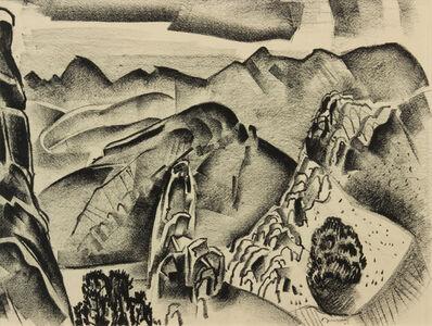 Raymond Jonson, 'New Mexico Landscape', 1927