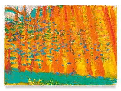Wolf Kahn, 'Slowly Downhill', 2018