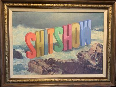 Wayne White, 'SHITSHOW', 2020