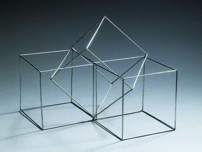 François Morellet, 'Sculpture à trois volumes', 1970