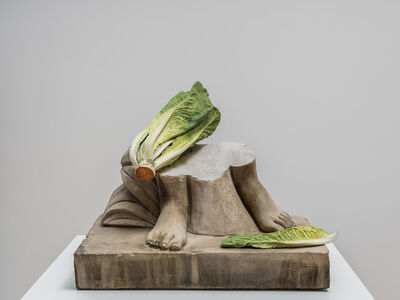 Tony Matelli, 'Feet (Romaine)', 2019