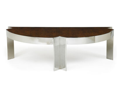 Leon Rosen, 'Massive Mezzaluna desk, New York', 1980s