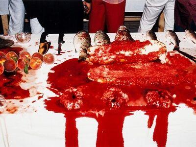 Hermann Nitsch, 'Performance 2003', 2003