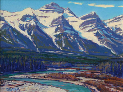William Duma, 'Bow River Valley (3-19)', 2019