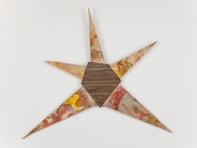 Brenna Youngblood, 'Untitled (Yellow-orange star)', 2011