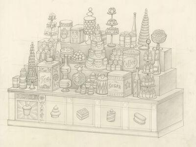 Mark Ryden, 'Dessert Counter (sketch)', 2016