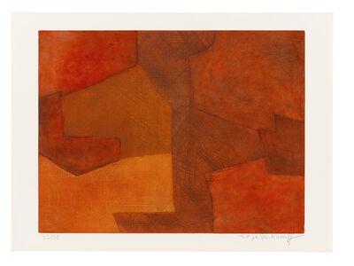 Serge Poliakoff, 'Composition orange et rouge', 1966