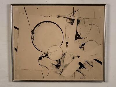 Budd Hopkins, 'Untitled Collage', 1968