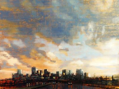 Christopher Clark, 'Denver Skyline Beneath the Afternoon Storm', 2018