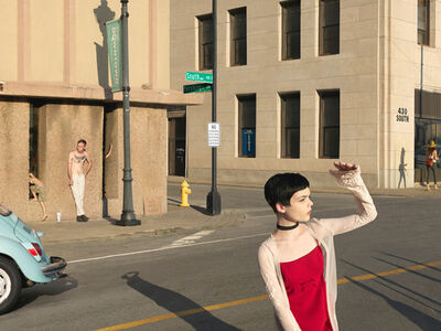 Julie Blackmon, 'South & Pershing St.', 2017