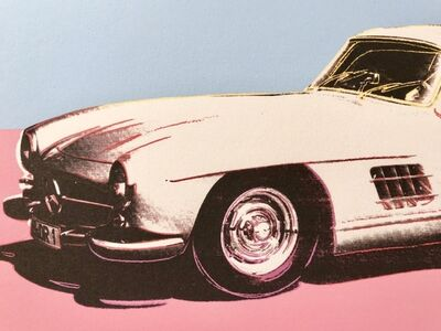 Andy Warhol, 'Mercedes 300SL white', 1986