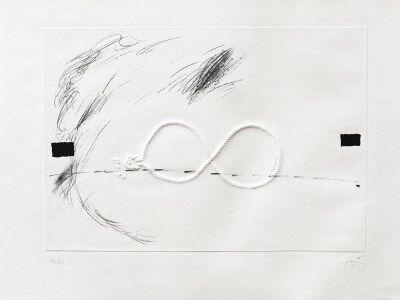 Antoni Tàpies, 'Lacet de Corde', 1969