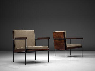 Geraldo de Barros, 'Lounge Chairs in Jacaranda Wood', ca. 1950s
