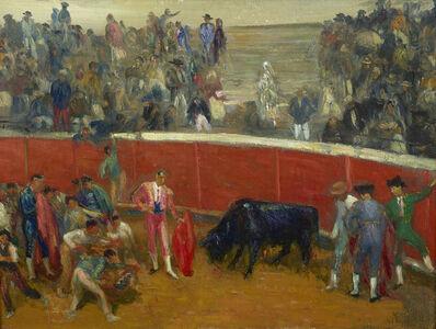 William James Glackens, 'Bullfight', ca. 1906