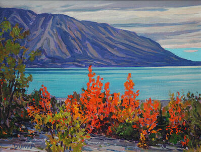 William Duma, 'Sky Clearing (Yukon) #24.17'