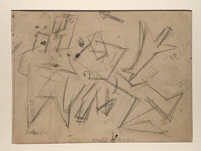 Louis Schanker, 'Sketch for Football', ca. 1940