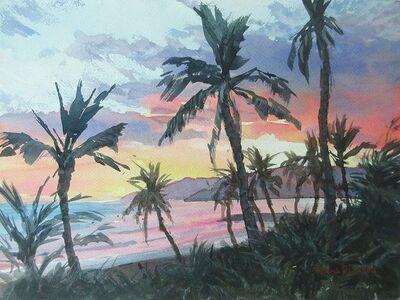 Donna Dickson, 'Tropical Sunrise'