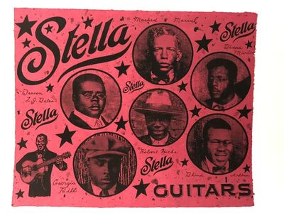 Danny Williams, 'Stella Guitars', 2003