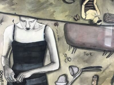 Patricia Torres, 'Donuts', 1998