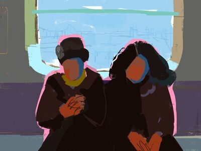 Janet Pedersen, 'Subway Ride 3', 2019