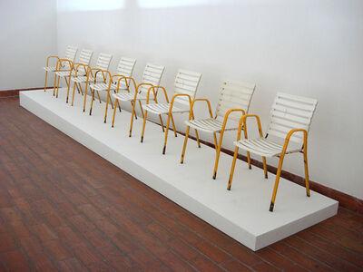 Tolj Slaven, 'Luči's Chairs', 2006