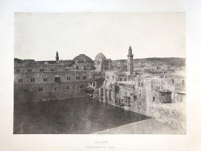 Auguste Salzmann, 'Birket-Hammam-El-Batrak, Jerusalem', 1854