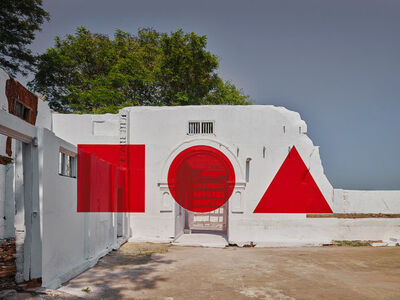 Georges Rousse, 'Kochi', 2018