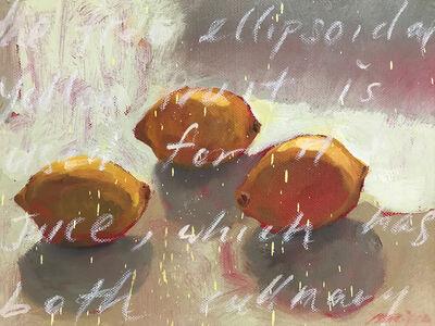 Baet Yeok Kuan 麦毓权, 'Study of 3 Lemons II', 2016