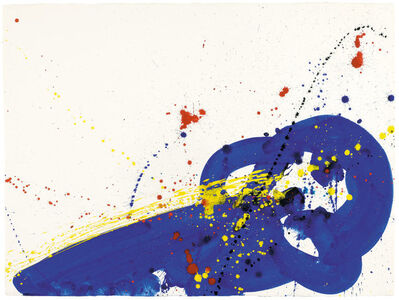 Sam Francis, 'Untitled (Blue) (SF64-065)', 1964