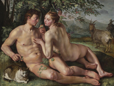 Hendrik Goltzius, 'The Fall of Man', 1616