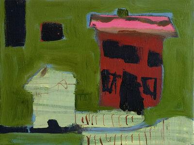 Jennifer Hornyak, 'Maison avec toit rose', 2019