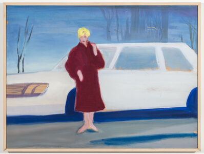 Stephen Lack, 'Kim Novak in Winter', 1982