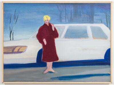 Stephen Lack, 'Kim Novak in Winter', 1982