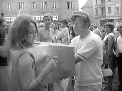 VALIE EXPORT, 'Still from Touch Cinema', 1968